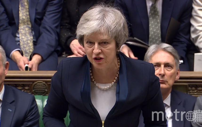 Британский премьер Тереза Мэй. Фото AFP