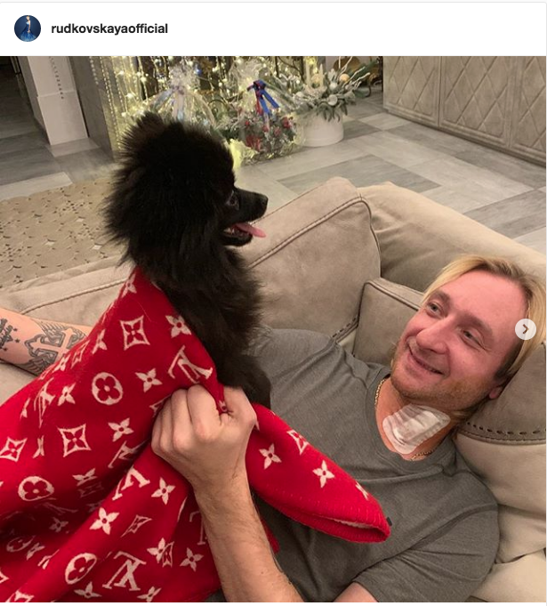 "Евгений Плющенко. Фото https://www.instagram.com/plushenkoofficial/, ""Metro"""