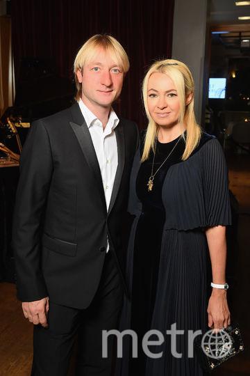 Евгений Плющенко и Яна Рудковская. Фото Getty