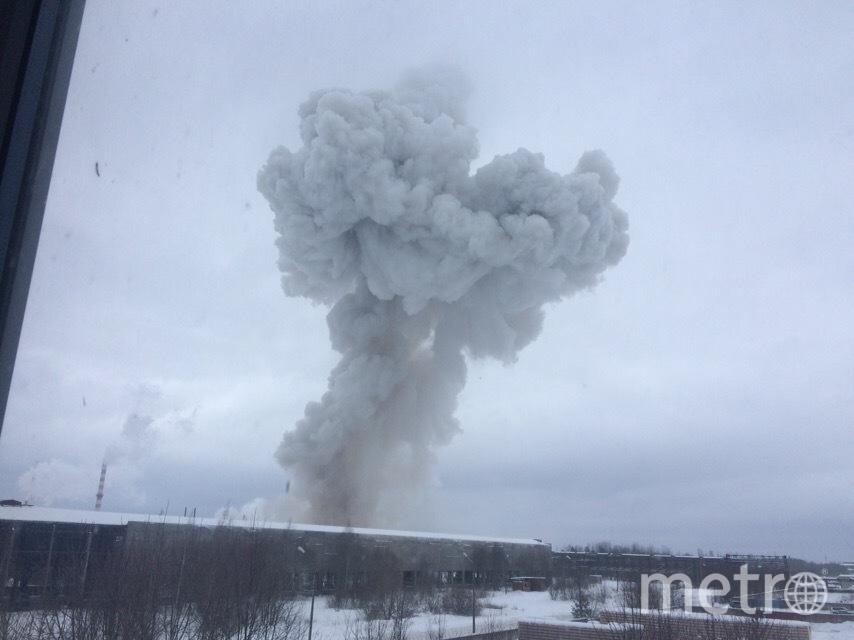 Взрыв на заводе в Кингисеппе: Видео и подробности происшествия. Фото ГУ МЧС по Санкт-Петербургу и Ленобласти