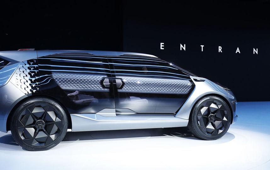 North American International Auto Show-2019. GAC Motor Company Entranze Concept. Фото Getty