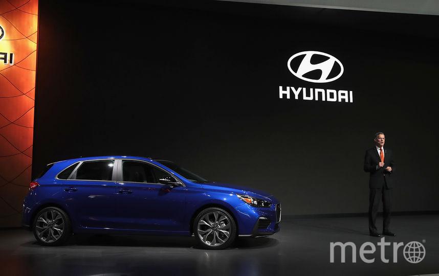 North American International Auto Show-2019. Hyundai Elantra GT N Line. Фото Getty