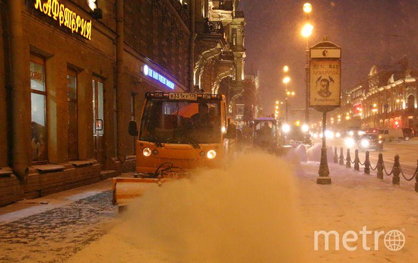 Уборка снега в Петербурге. Фото gov.spb.ru