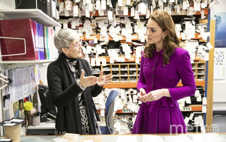 Кейт Миддлтон посетила Ковент-Гарден. Фото Getty