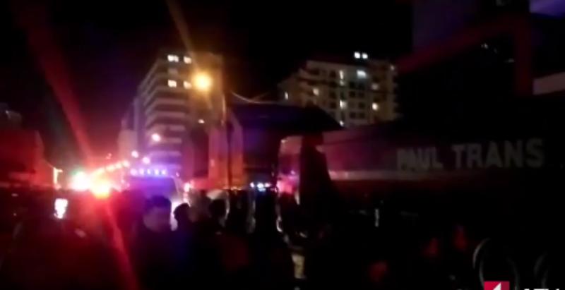 В результате взрыва в жилом доме ранены семеро. Фото скриншот YouTube