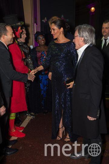 Меган Маркл и принц Гарри в Альберт-холле. Фото Getty