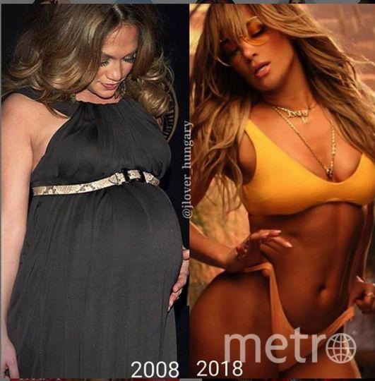 Дженнифер Лопес 10 лет назад была беременна. Фото https://www.instagram.com