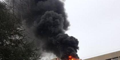 Взрыв в Лионском университете во Франции попал на видео