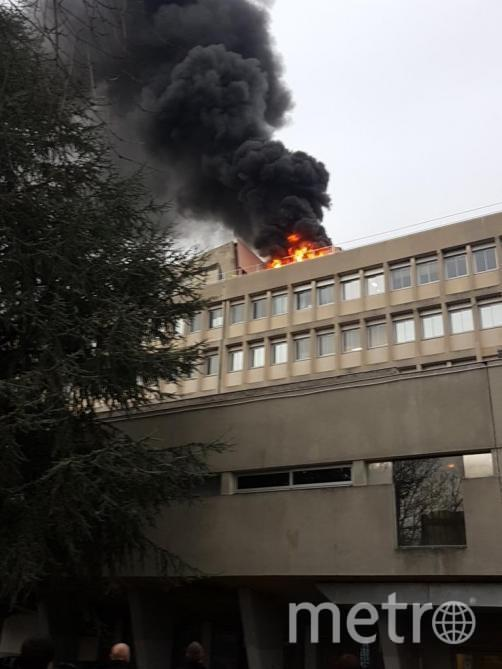 Фото и видео из университета появились в Сети. Фото Twitter