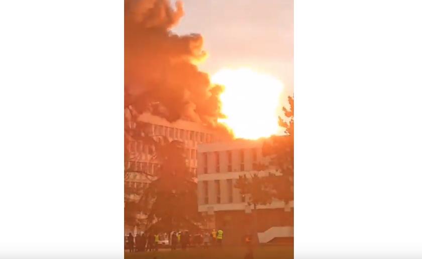 """Фото и видео из университета появились в Сети. Фото """"Metro"""""""
