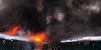 Пожар в гаражах на северо-востоке Москвы площадью 300 кв. метров локализовали