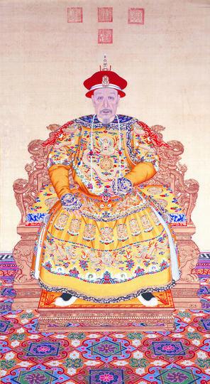Портрет императора Цяньлуна в парадном одеянии. Фото  The Palace Museum | Ван Цзинь, Предоставлено организаторами