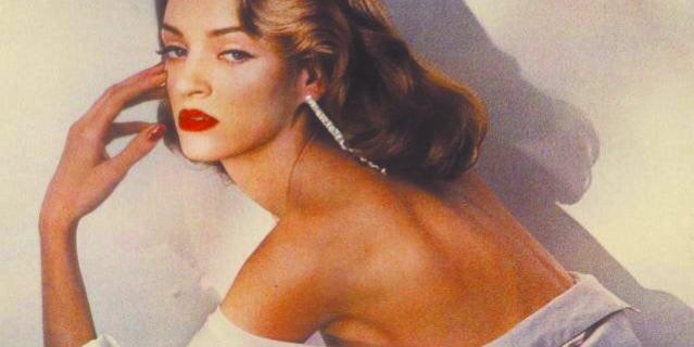 Это фото Умы Турман было опубликовано в 1992 году.