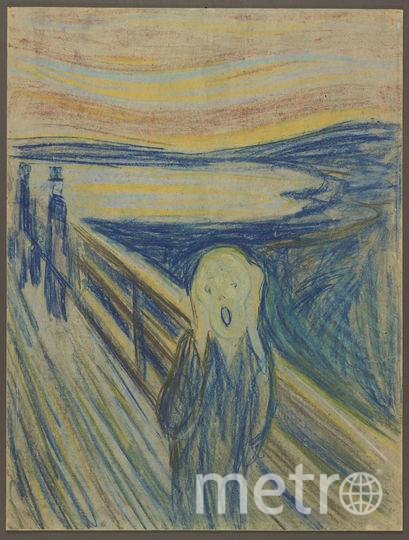 Москвичам покажут графический вариант «Крика» Эдварда Мунка. Фото Предоставлено Третьяковской галереей