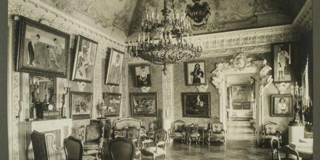 Зал Матисса в особняке Сергея Щукина, 1913.