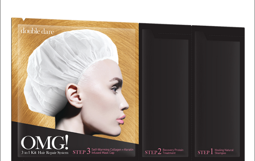 Double Dare OMG! Spa 3in1 kit hair repair system.