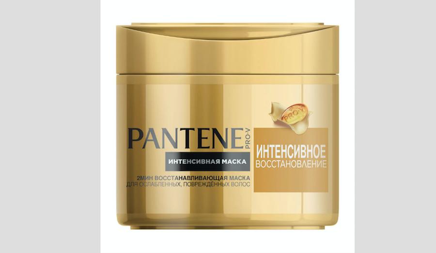 """Pantene Pro-V """"Интенсивное восстановление""""."""