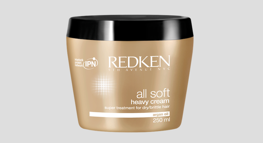 Redken All Soft Heavy Cream.