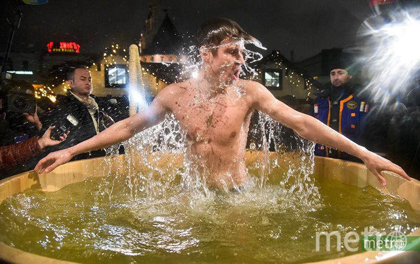 Крещенские купания в Москве пройдут на 59 площадках. Фото Василий Кузьмичёнок
