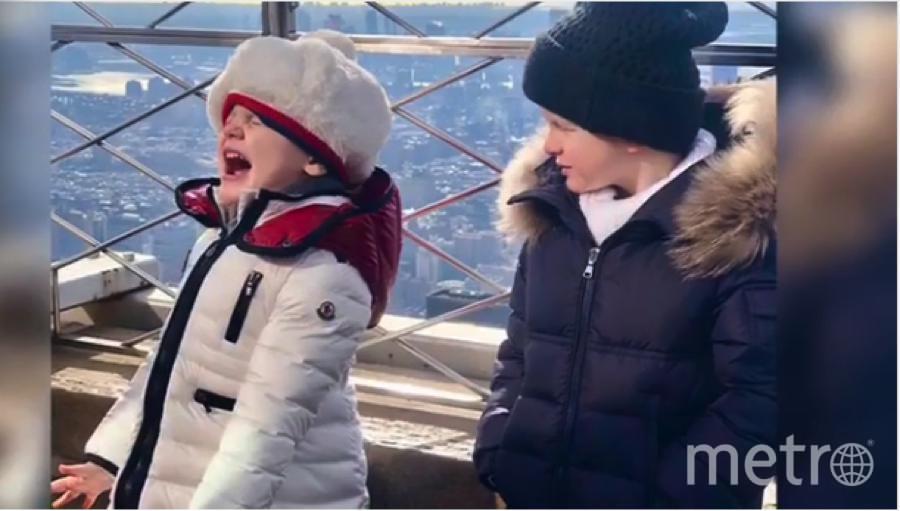 """Фото детей княгини Монако Шарлен в Нью-Йорке. Фото https://www.instagram.com/hshprincesscharlene/, """"Metro"""""""