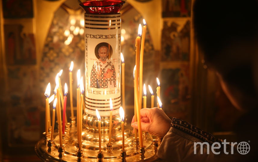 """Богослужение в храме накануне Крещения. Фото Василий Кузьмичёнок, """"Metro"""""""