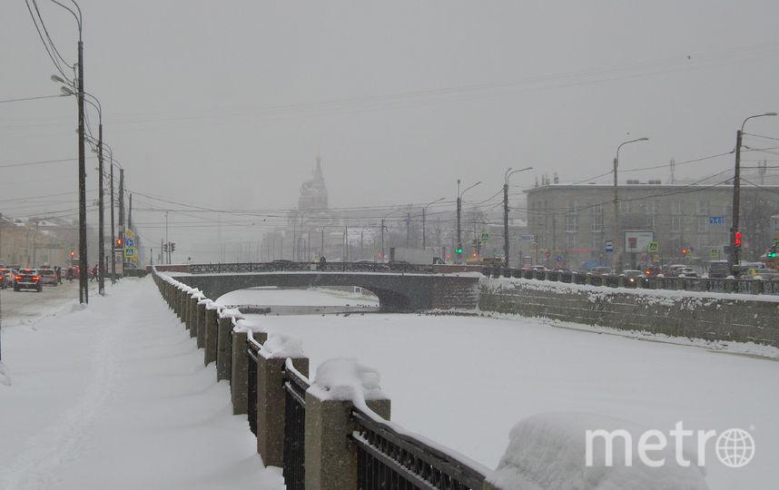 """Снег обрушился на город 17 января. Фото Анна Лутченкова, """"Metro"""""""