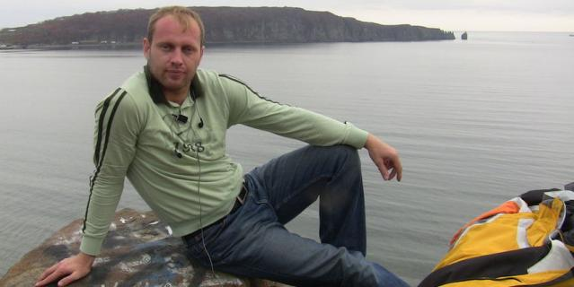 Алексей Ивлев - болезнь ещё не сказалась на его внешнем виде.