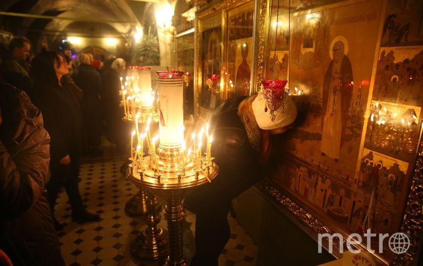 """Крещенская служба или Навечерие Богоявления. Фото Василий Кузьмичёнок, """"Metro"""""""