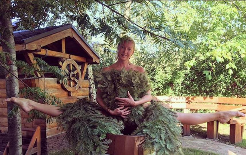 Анастасия Волочкова. Архивное фото. Фото Скриншот https://www.instagram.com/volochkova_art/, Getty