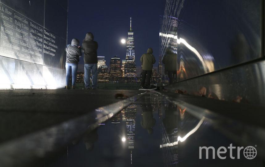 Кровавая Луна и затмение. А это фото из Нью-Йорка. 20 января. Фото Getty