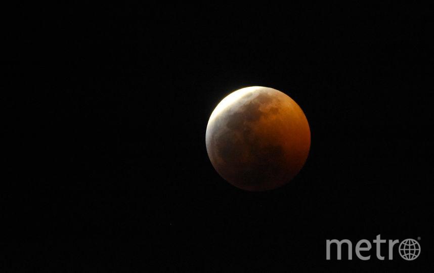 Кровавая Луна и затмение. Фото сделаны в Мексике. Фото Getty