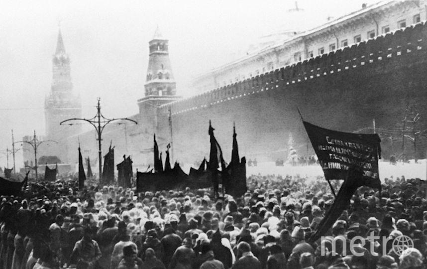 Траурная процессия на Красной площади 27 января в Москве. Фото РИА Новости