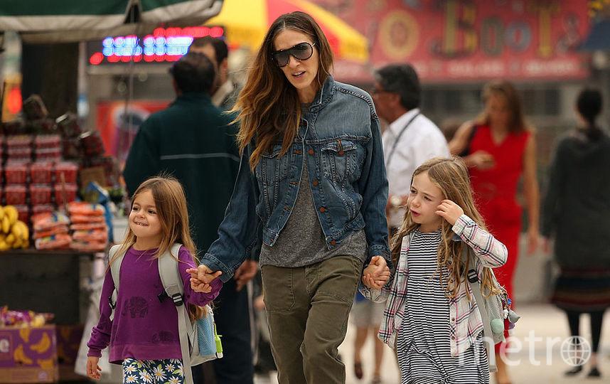 Сара Джессика Паркер с детьми. Фото Getty