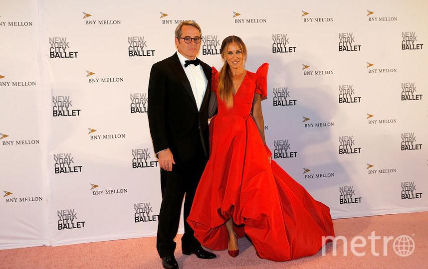 Сара Джессика Паркер с мужем. Фото Getty