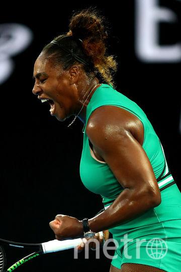 Серена Уильямс на Australian Open-2019. Фото Getty