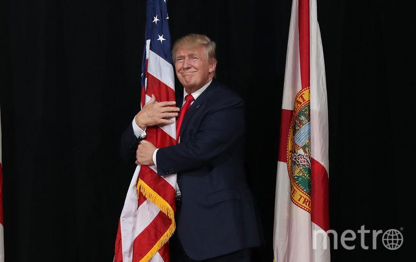 Дональд Трамп, архивное фото. Фото Getty