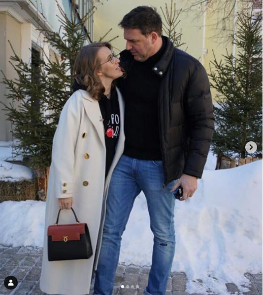 Ксения Собчак и Максим Виторган. Фото Скриншот instagram.com/xenia_sobchak/?hl=ru.