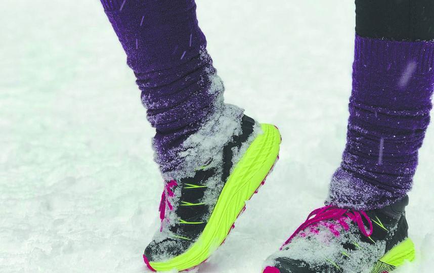 """Подошва беговой обуви должна иметь """"зубастый"""" протектор. Фото Скриншот instagram.com/elvirunchik"""