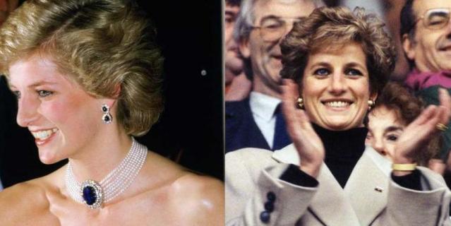 10YearsChallenge. Диана в 1985 году и в 1995 году.