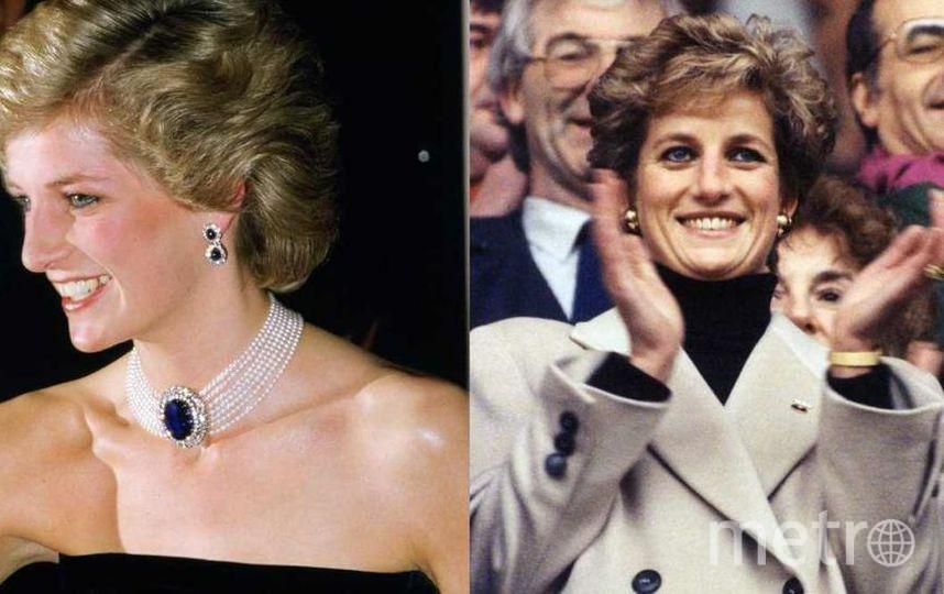 10YearsChallenge. Диана в 1985 году и в 1995 году. Фото Getty