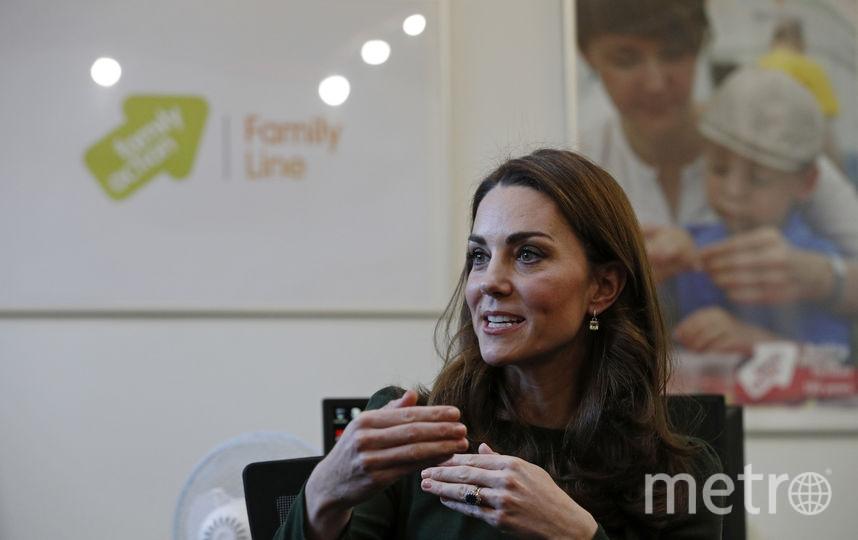 Кейт Миддлтон посетила благотворительную организацию. Фото Getty