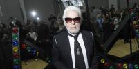 Карл Лагерфельд пропустил показ моды Chanel