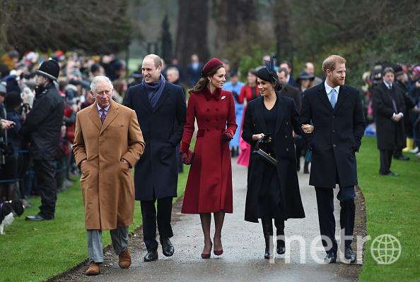 Королевская семья. Фото Getty