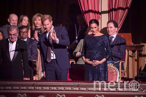 Герцогиня Сассекская Меган Маркл и принц Гарри. Фото Getty