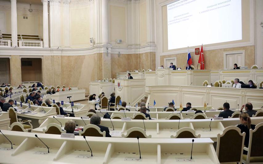 В ЗакСе Петербурга утверждены 6 вице-губернаторов города. Фото www.assembly.spb.ru