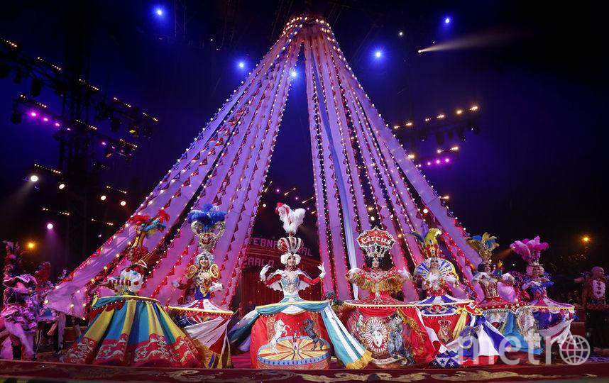 Российские цирковые артисты. Фото AFP