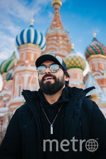 Али Эрсан Дуру в Москве. Фото Киностудия КИТ