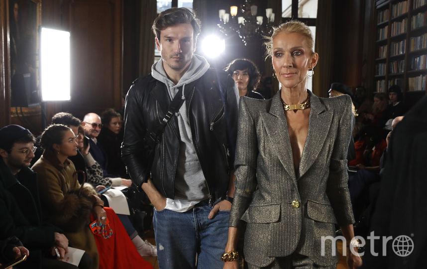 Селин Дион и Пепе Муньос. Фото AFP