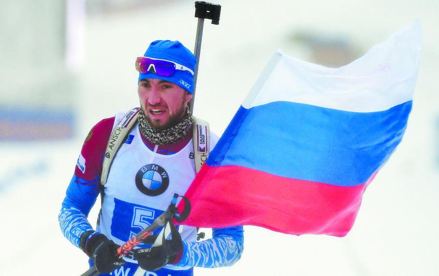 Александр Логинов идёт вторым в общем зачёте Кубка мира, уступая только норвежцу Йоханнесу Бё. Фото Getty