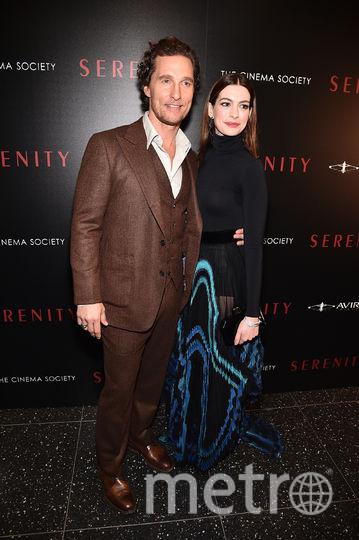 Мэттью МакКонахи и Энн Хэтэуэй. Фото Getty